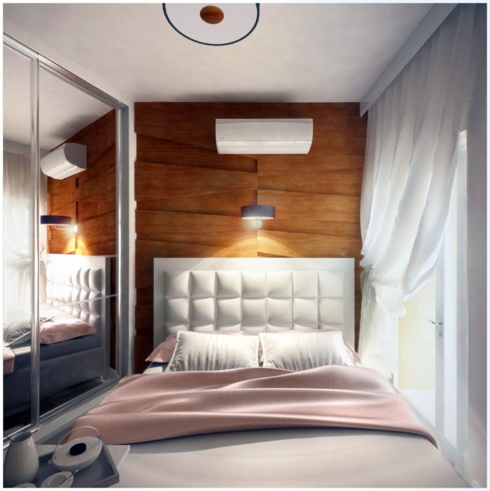 Small Apartment: Small Apartment With A Ingenious Design (LIGHT)