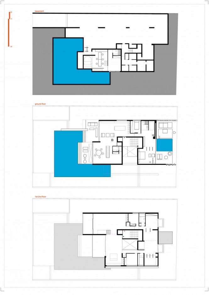 Cool h2 apartments in glyfada suburbs of athens home Birds eye view house plan