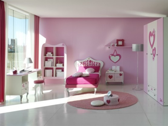 15 cool ideas for pink girls bedrooms home design - Cool things for bedroom ...