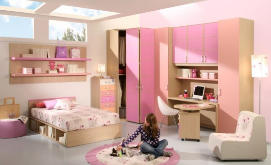 15 Cool Ideas For Pink Girls Bedrooms Home Design