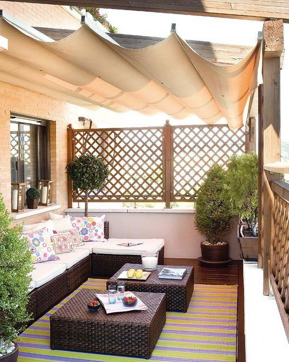 Wonderful Balcony Design Ideas