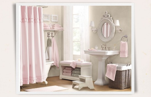 Traditional bathrooms and accessories for kids home for Bathroom accessories for girls