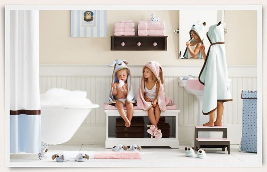 Traditional Bathrooms And Accessories For Kids Home