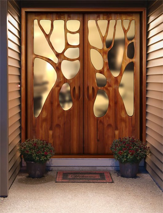 Unique Door Designs By Victor Klassen Home Design
