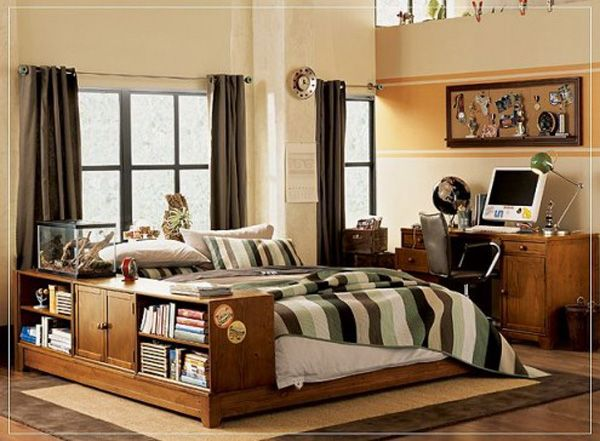 20 bedroom designs for teenage boys home design garden - Teen boy bedroom ideas ...