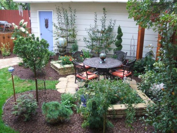 Inspiration For Small Gardens  Home Design, Garden & Architecture