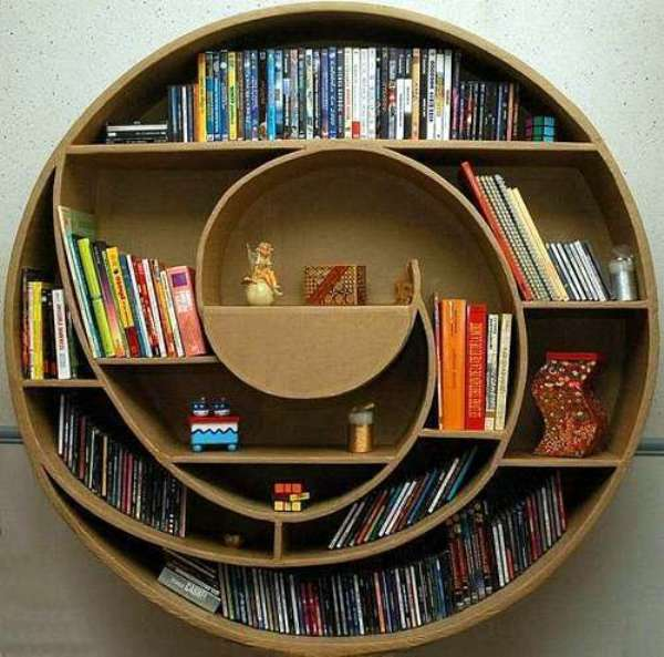 Amazing and Innovative Bookshelf