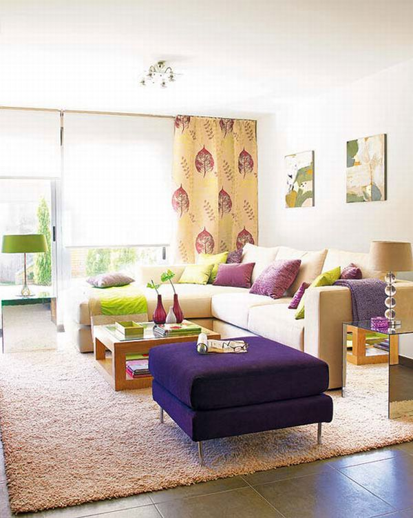 Colorful Living Room Interior Decor Ideas | GoodsHomeDesign