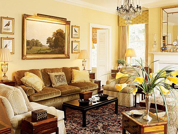 Positive And Comfortable Yellow Rooms Home Design