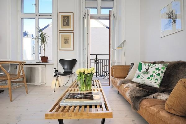 20 Scandinavian Living Room Designs With A Charming Effect Home Design Garden Architecture