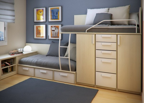 Space-Saving Ideas for Small Bedroom | Home Design, Garden ...