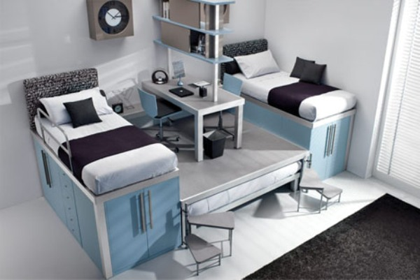 Space-Saving Ideas For Small Bedroom