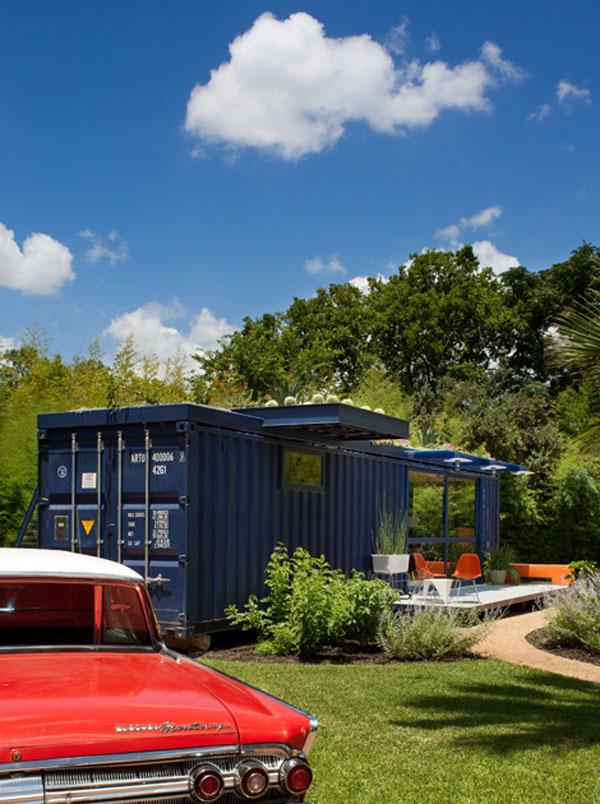 Container Guest House by Poteet Architects | Home Design, Garden ...