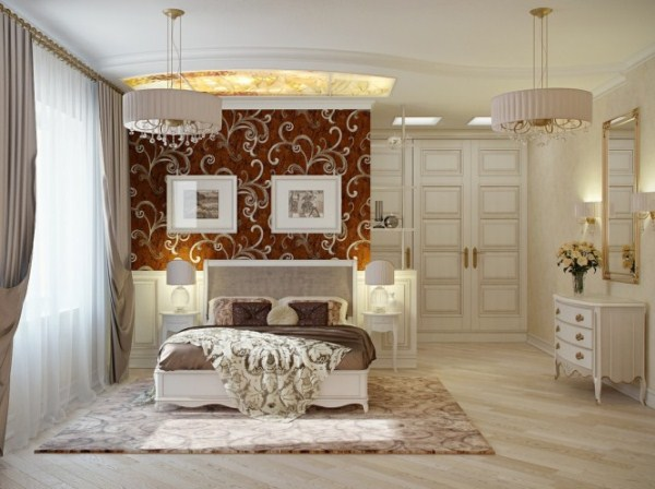 Cream Bedroom Decor: Luxury Bedrooms In A Traditional Style