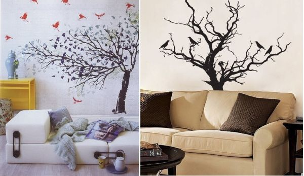 Lovely Ideas To Decorate Your Interior With Tree Branches