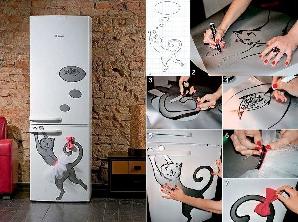 Creative Idea for Your Kitchen: Christmas Fridge Magnets ...