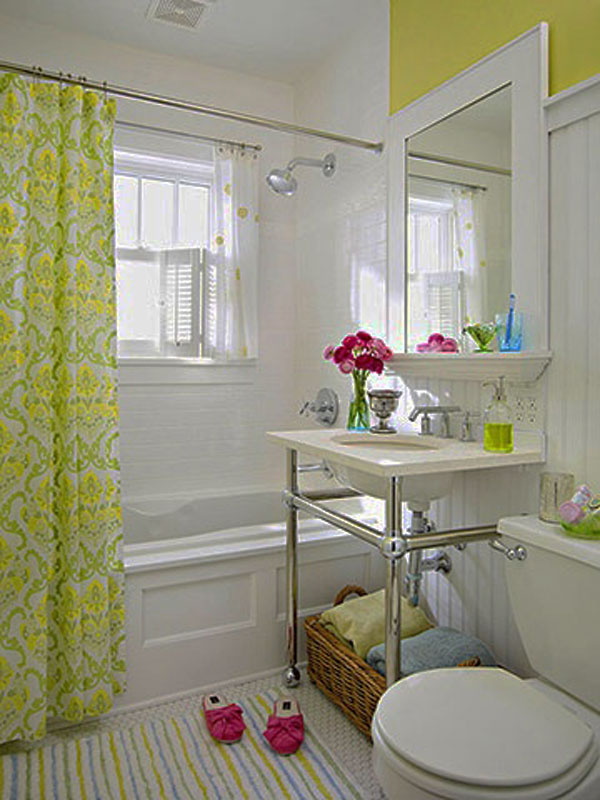 30 small and functional bathroom design ideas home for Home and garden bathrooms