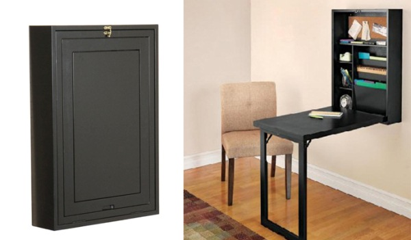 Create An Office Anywhere With Fold Out Convertible Desk