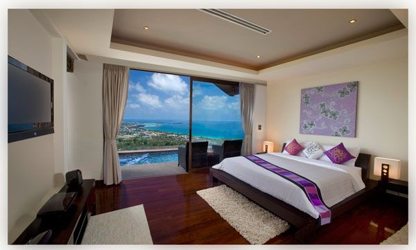 20 Magnificent Bedrooms With A Panoramic View Of The