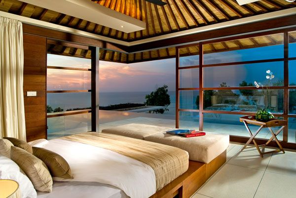 awesome beach style bedroom | 20+ Magnificent Bedrooms with a Panoramic View of the ...