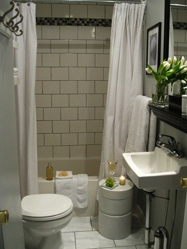 30 Small and Functional Bathroom Design Ideas | Home ...