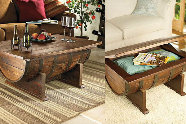 Handmade-Vintage-Oak-Whiskey-Barrel-Coffee-Table