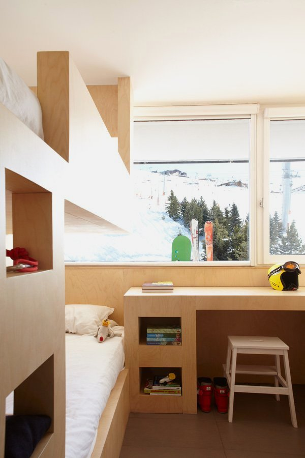 Interior Design For Small Apartment With Many Beds In Menuires Ski Resort Fr