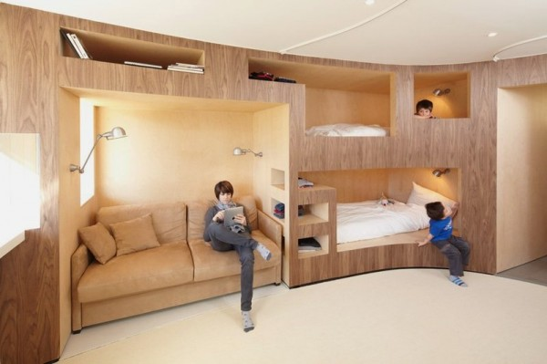 build wood bunk beds