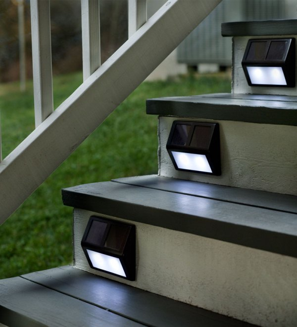 Let The Sun Light Your Stairs Or Path At Night | Home Design