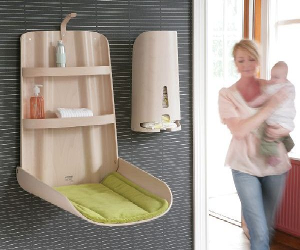 Meuble Tv Ikea Leksvik : Wall Mounted Baby Changing Tableshome Design, Garden & Architecture