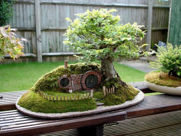 Miniature Hobbit House | Home Design, Garden & Architecture Blog ...