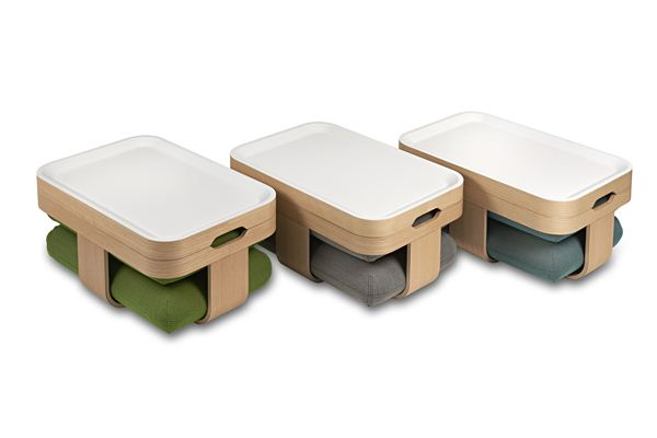 Mister T Coffee Table Convertible Ottoman and Footrest  Home Design, Garden  -> Table Avec Pouf
