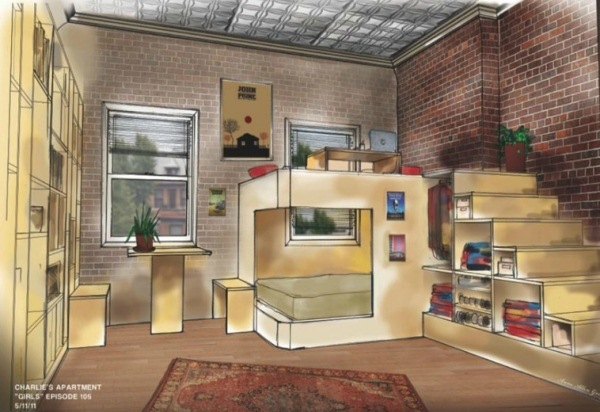 Ingenious Apartment Idea: Charlie's Studio