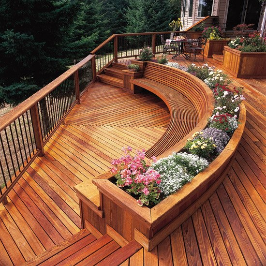 Unique Deck Design Ideas