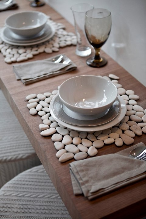 Protect And Decorate Your Table With Multi Color River