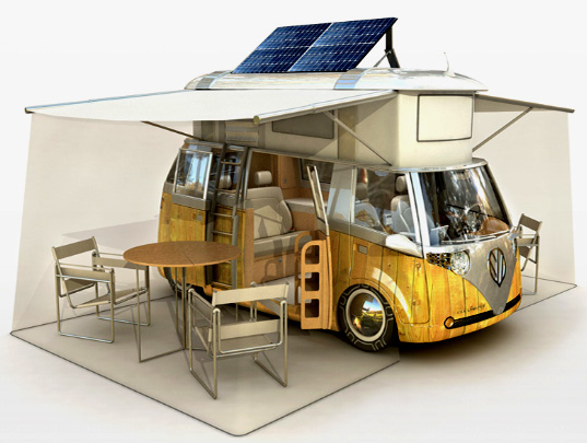 ... designed vans and campers brought the concept of camping to another