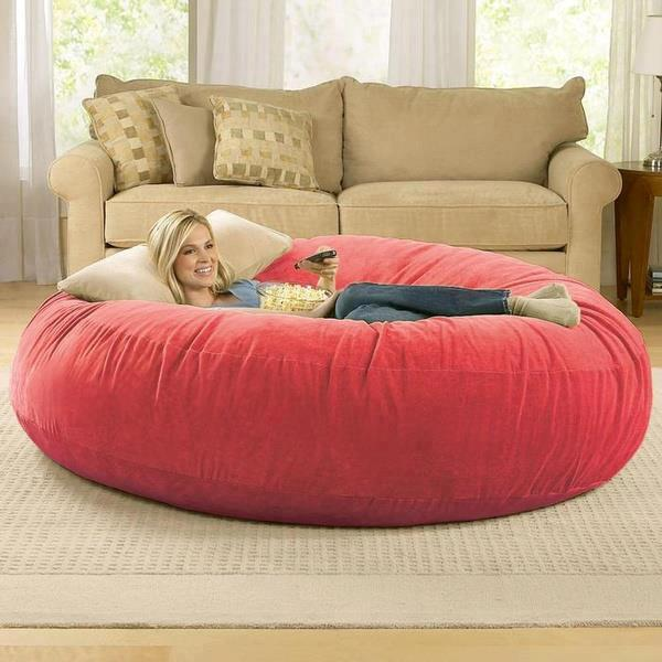 experience ultimate comfort with cocoon bean bag lounger