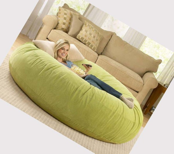 Experience ultimate comfort with cocoon bean bag lounger - How to decorate living room with bean bags ...