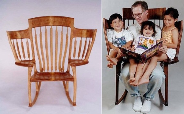 chair-grandfather-with-grandchildren
