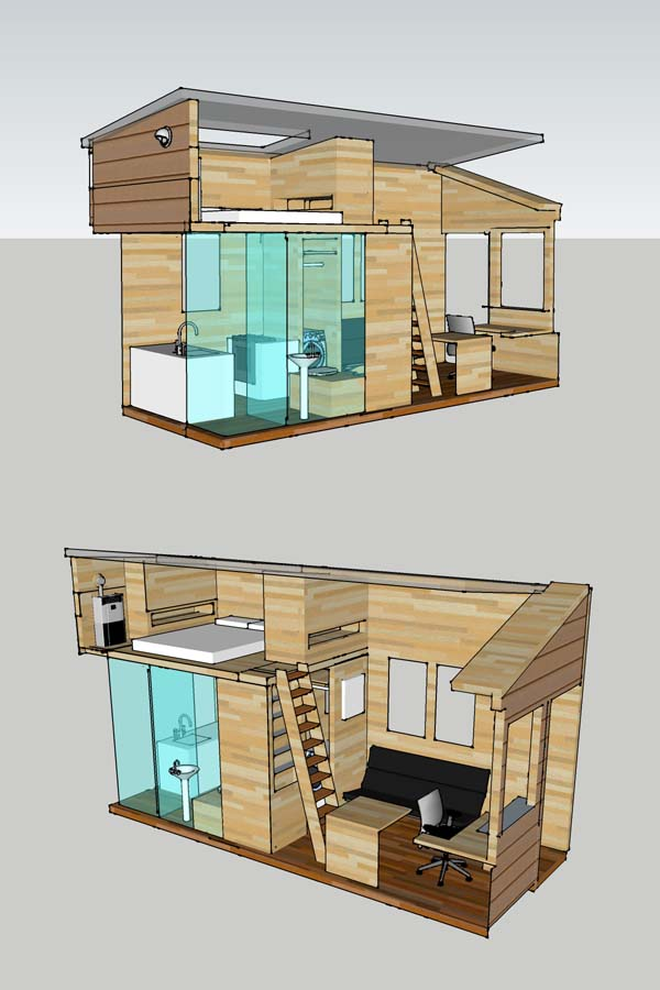 Tiny house project home design garden architecture for Project home designs