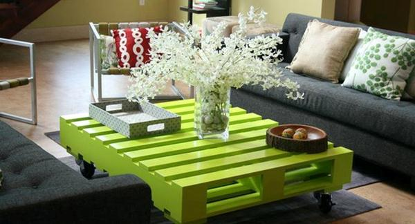 Recycled Wood Pallet Decoration And Functionality Home