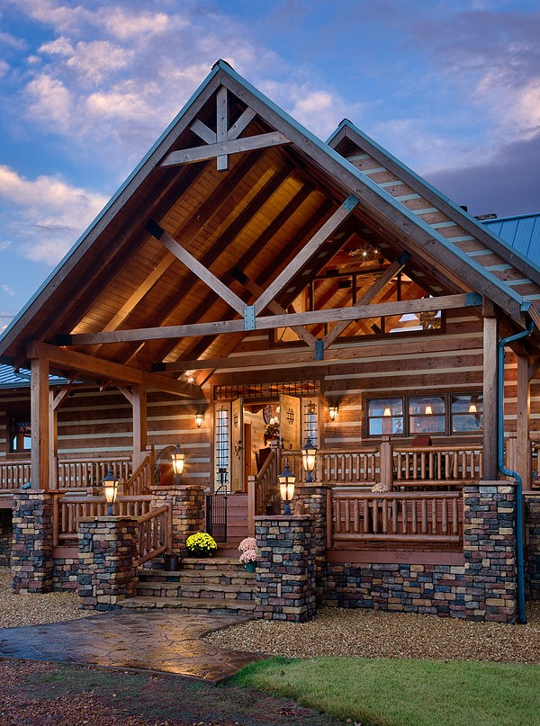 Charming Log Home Near A 155 Acre Lake Home Design Garden Amp Architecture Blog Magazine