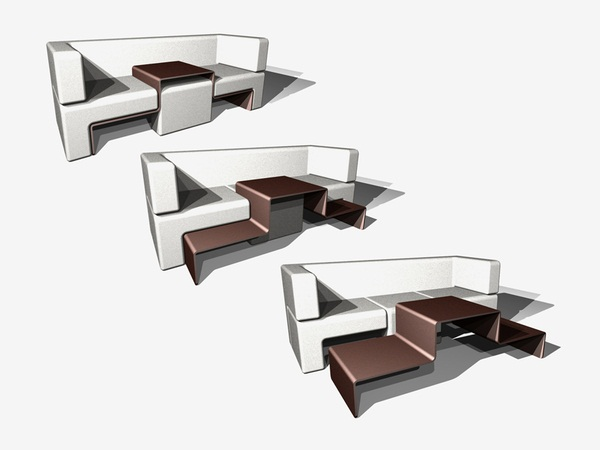 Space Saving With An Innovative And Dynamic Furniture