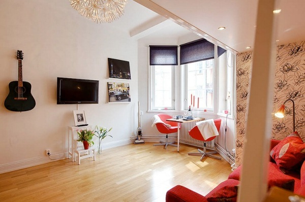 Tiny studio apartment with perfect interior design ideas for Small studio design