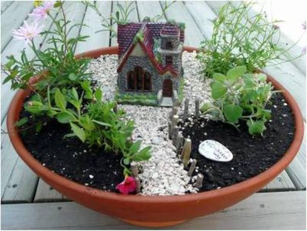 How To Create A Miniature Garden Home Design