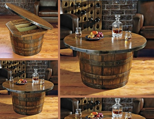 Whiskey-Barrel-Table
