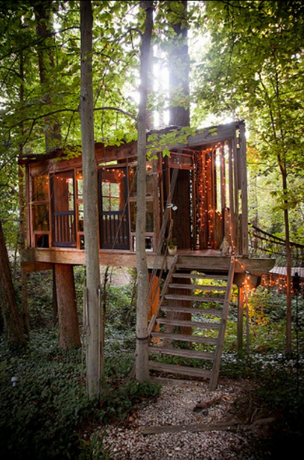 Peter Bahouth S Treehouses Home Design Garden