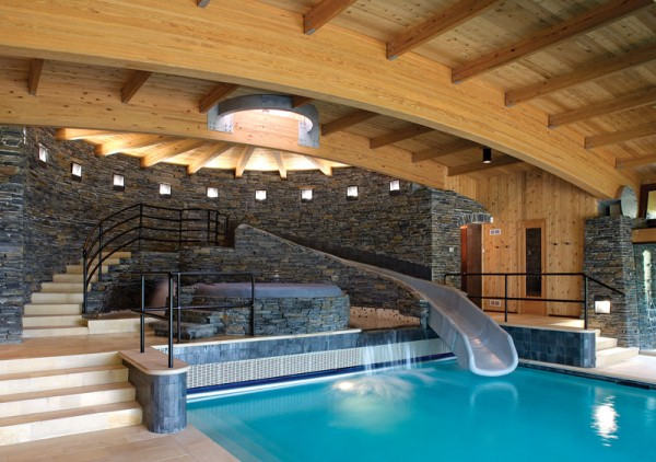 Indoor swimming pool design ideas for your home home for Best home swimming pools