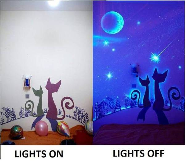 how to make glow in the dark paint brighter