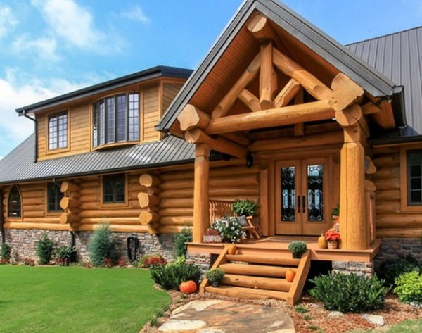 Amazing Mountain Log Home With Spectacular View And
